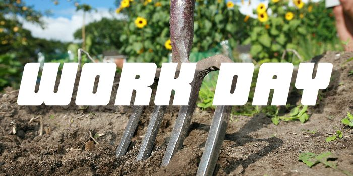 Work Day #1 – Lets dig a trench
