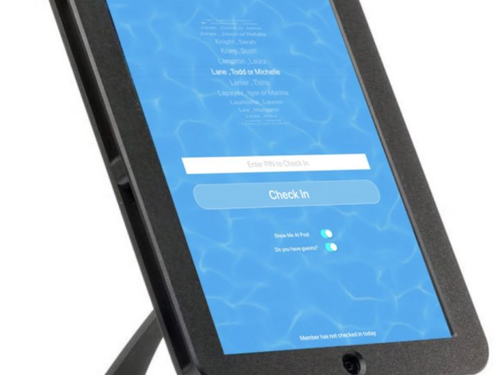 Add a Member Check In Kiosk to your Neighborhood Pool or Club