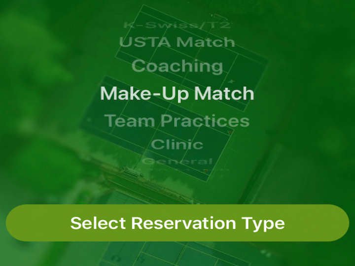 Our App Now Supports Tennis Reservations