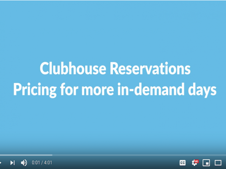 How to Use Variable Pricing for Clubhouse Reservations